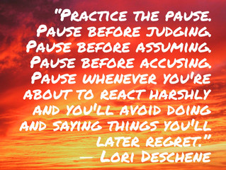 ✨🙏Just Pause🧚🏻♀️💫