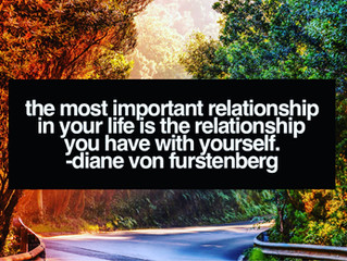 the most important relationship...