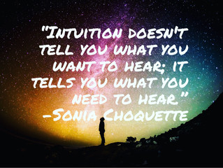 ✨🙏What is your intuition telling you?🧚🏻‍♀️❤️