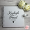Thumbnail: Personalised White Wedding Guestbook