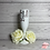 Thumbnail: Personalised White Champagne Flute