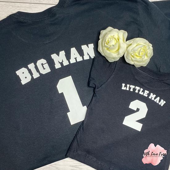 Big Man Little Man Matching Set