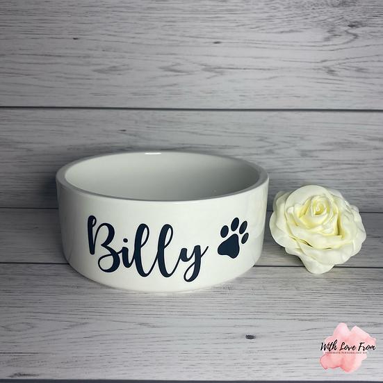 Personalised Pet Bowl (17cm)