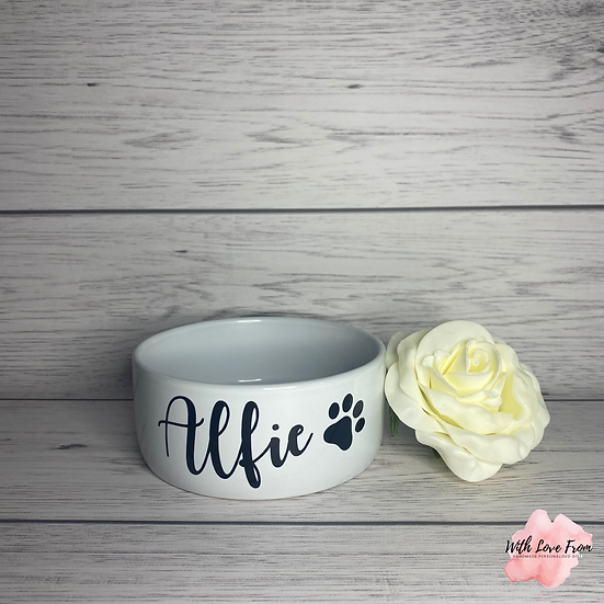 Personalised Pet Bowl (12cm)