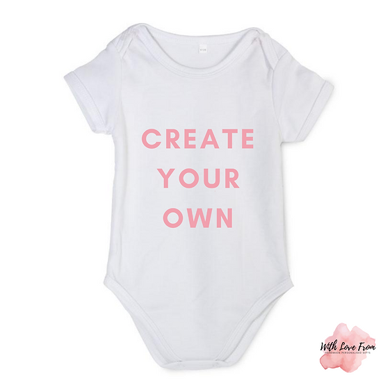Create Your Own Bodysuit