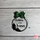 Thumbnail: Christmas At The Family Name Christmas Tree Glitter Bow Bauble