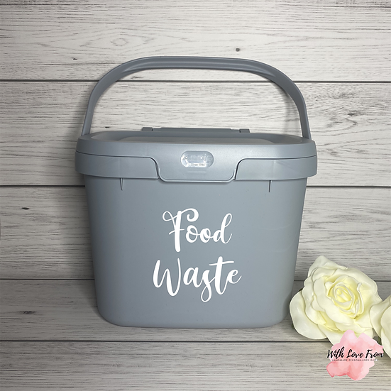 Personalised Kitchen Caddy