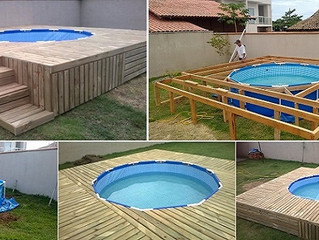 A piscina mais barata e prática que você já viu. E você mesmo pode fazer!