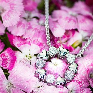 The Love Diamond Eternity Diamond Neckla
