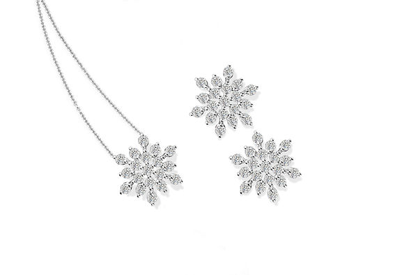 TLD The Love Diamond Snowflake Collectio