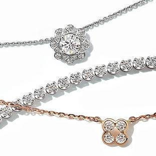 The Love Diamond Flower Diamond Collecti