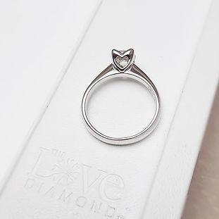 The Love Diamond Destiny Diamond Solitai