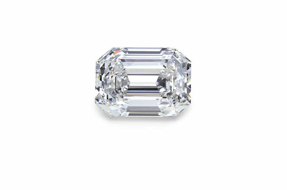 Emerald cut diamond - Suen Jewellers