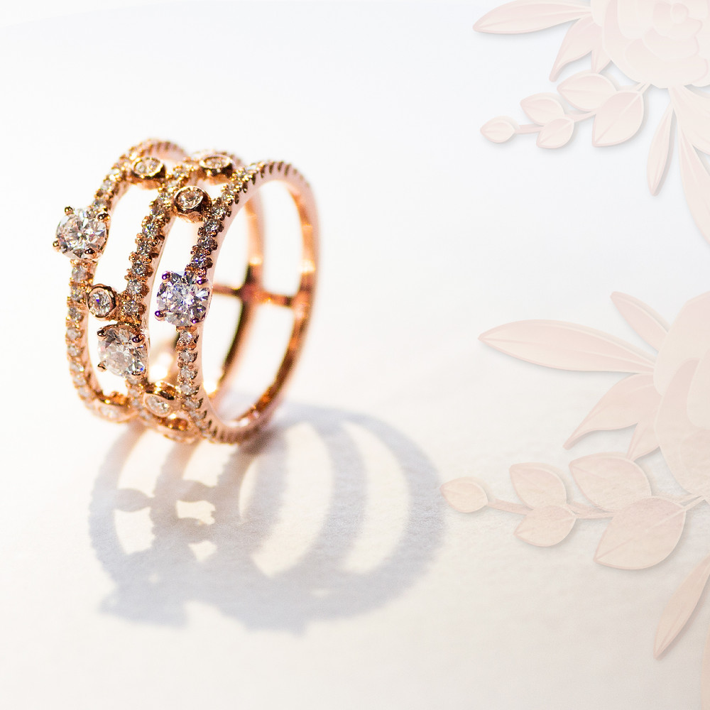 The Love Diamond Rose Gold Collection