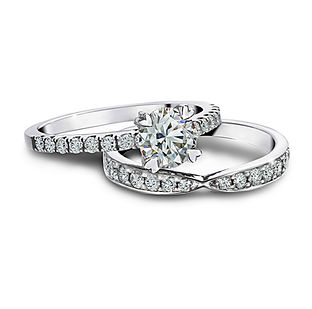 The Love Diamond Beautiful Duet Matching