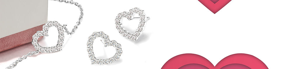 TLD The Love Diamond Hearts Collection B
