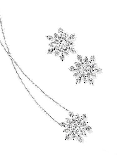 The Love Diamond Snowflake Diamond Colle