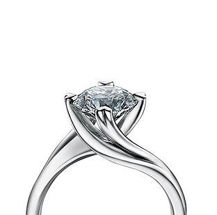 The Love Diamond Signature Entwine Diamo