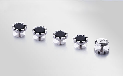 Tombol Premium Butang Baju Melayu Black Onyx