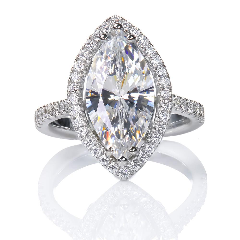 Marquise diamond ring - Suen Jewellers