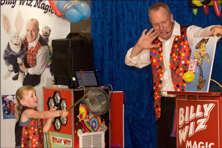 Billy Wiz Magician Devon Children's Ente