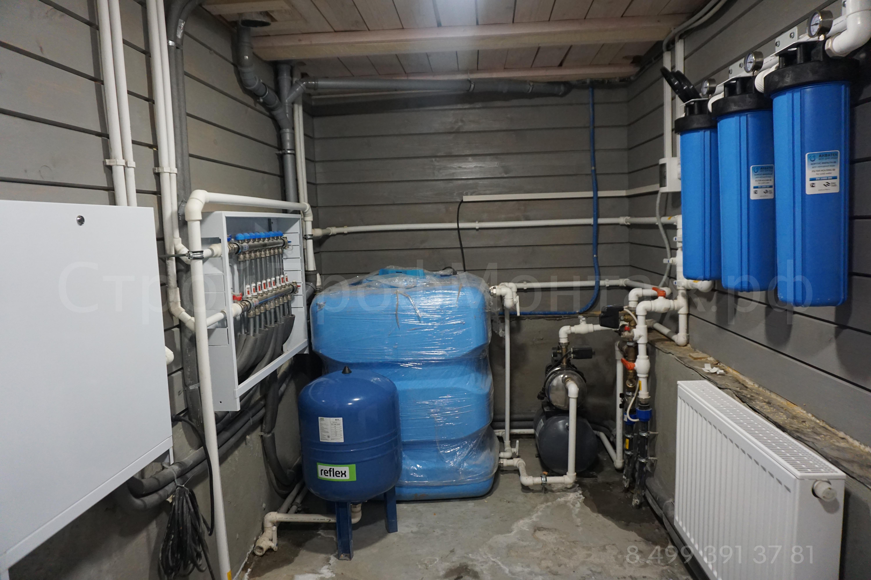 Водоснабжение- накопительная емкость