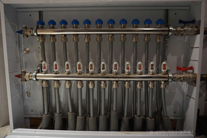 Rehau- коллектор для отопления