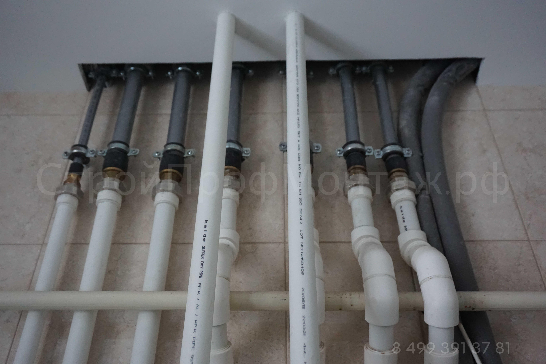 Отопление, теплый пол, водоснабжение