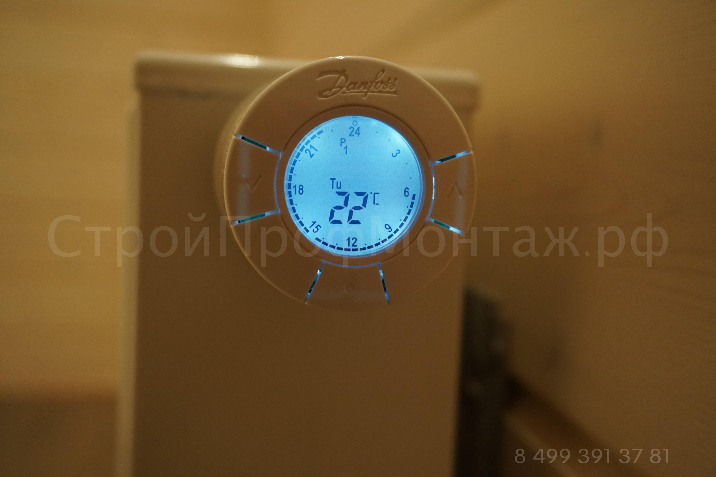 Danfoss- термостат living eco