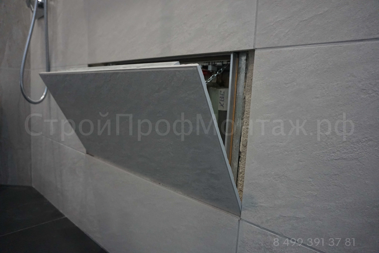 Коллекторный шкаф скрытого монтажа