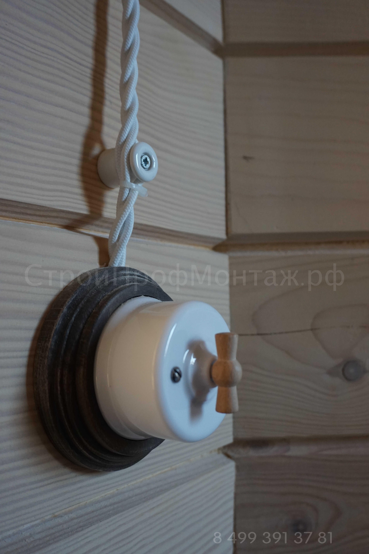 Электрика - ретро проводка