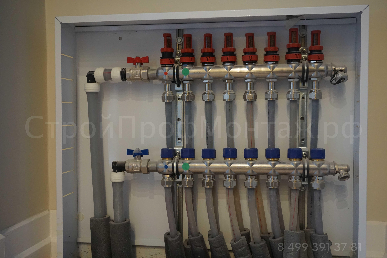 Uponor коллектор для отопления