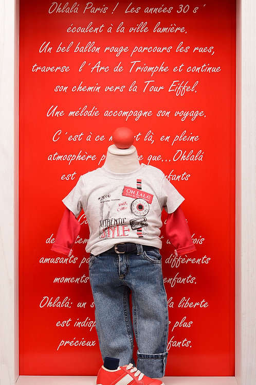 """Remera """"Authentic Style"""""""