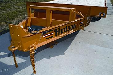 hudson brothers htr18 9 ton deckover trailer. Black Bedroom Furniture Sets. Home Design Ideas