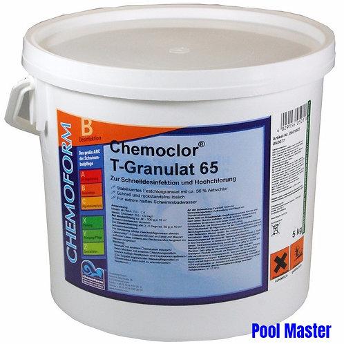 Кемохлор Т-65 гранулированный 5кг.