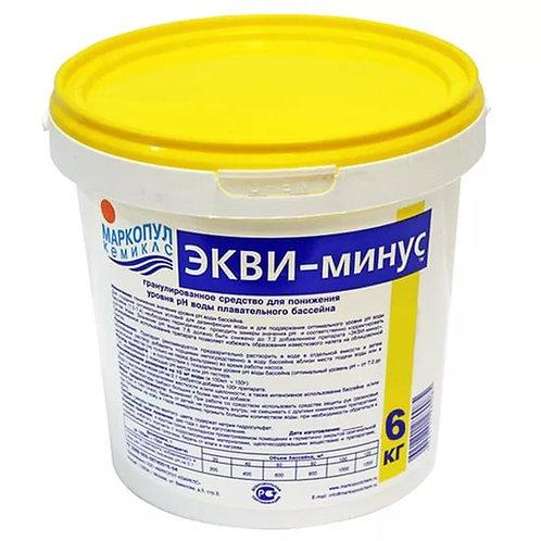 Экви-минус 6,0кг (в гранулах)