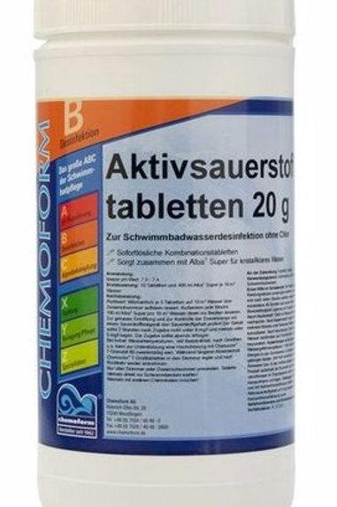 Аквабланк О2 в таблетках 20г 1кг.