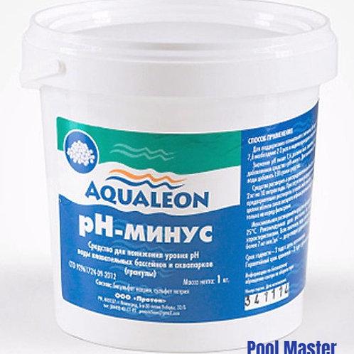 AQUALEON pН-минус (гранулы) 1 кг