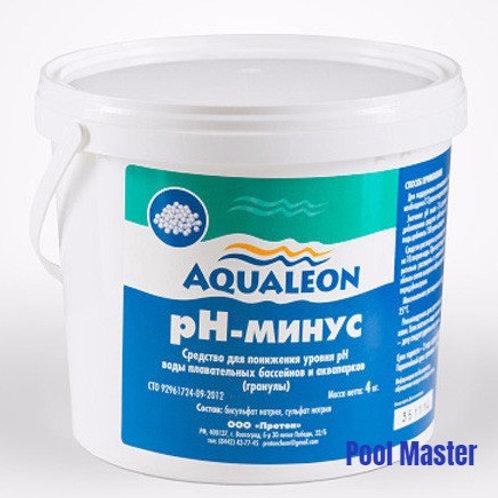 AQUALEON pН-минус (гранулы) 4 кг