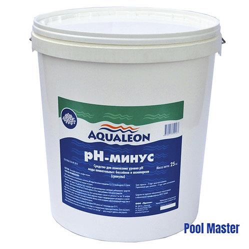 AQUALEON pН-минус (гранулы) 25 кг