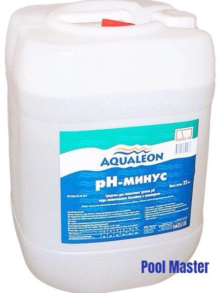 AQUALEON pН-минус (жидкий) 35 кг