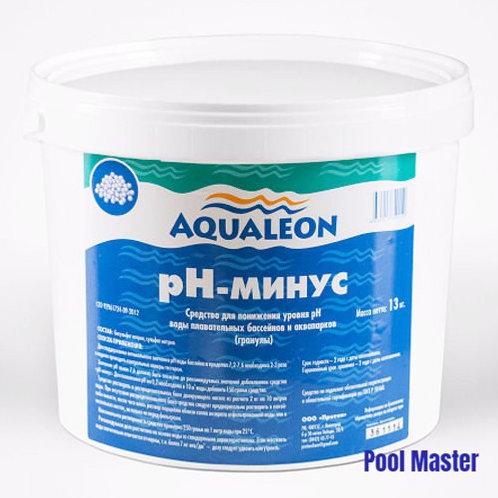 AQUALEON pН-минус (гранулы) 13 кг