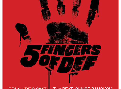 5 fingers of DEF Asia tour Bangkok.