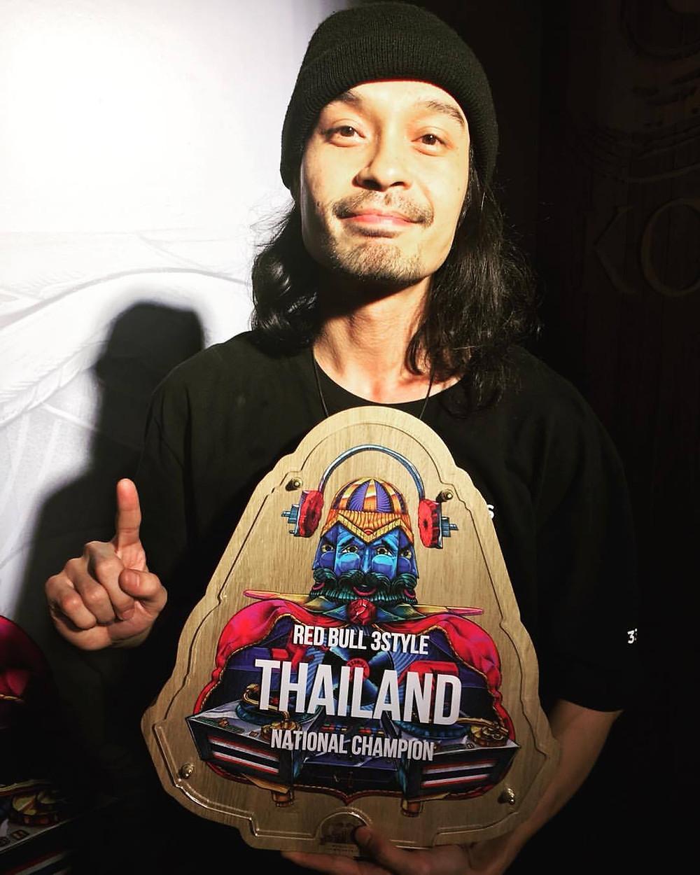 Whatdatfrog R3S Thailand 2017 winner