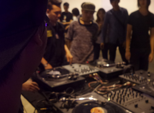 "ROCKACADEMY THAIALND  [ L.A.B. ""DJ Scratch"" Workshop ] By DJ Spydamonkee & Tha Beatlou"