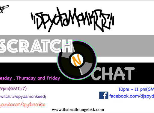 Scratch n Chat live boardcast.