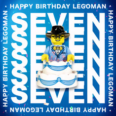 7 Years of Legoman