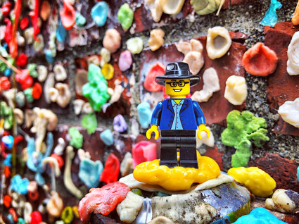 The Great Gum Wall of Seattle - Seattle, WA