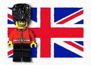 The Queen's Guard Legoman