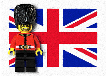 The Queen's Guard Legoman